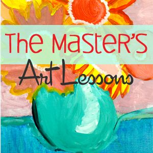 Easy watercolor resist art lessons for elementary school
