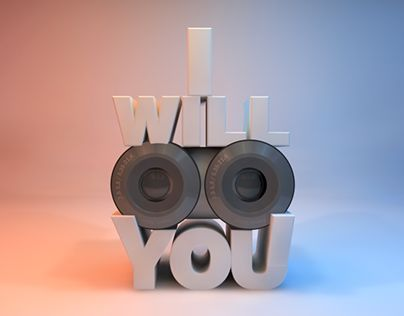 "Check out new work on my @Behance portfolio: ""I will See You 3D Creative"" http://on.be.net/1K06uV4"