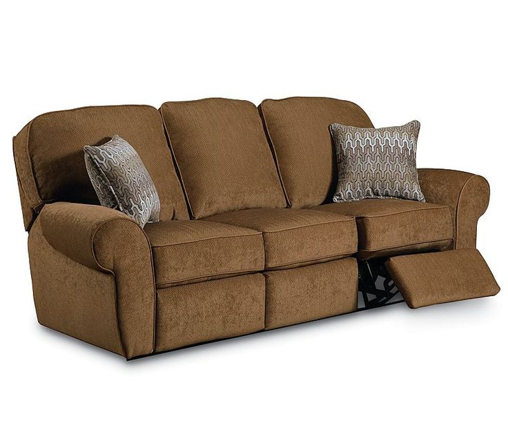 Sofa Mart Signature Design by Ashley Oberson Gunsmoke Brown Dual reclining Loveseat Bomber Jacket Brown Microfiber