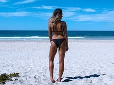 Australian Designer Swimwear - Eco, Sustainable, Ethical and Recycled Bikinis. Black Bikini