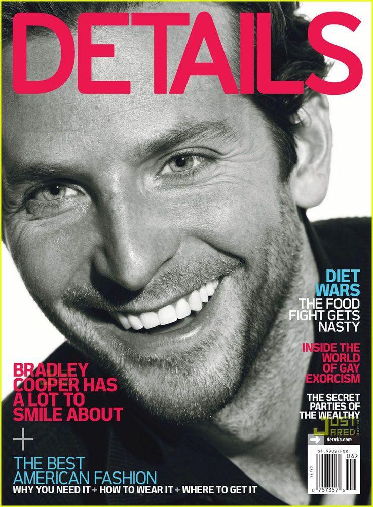 BRADLEY COOPER USA DETAILS MAGAZINE JULY 2010