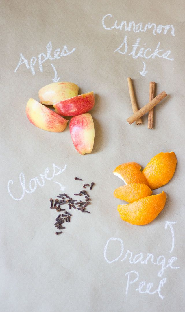 Orange stove top potpourri