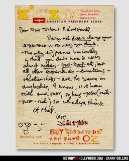 "#johnlennon www.beatlesmagazineuk.com BEATLES  MAGAZINE: ""DANNY COLLINS"" THE FILM ABOUT A SINGER WHO DISCOV..."