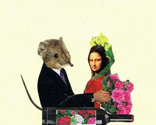 La bella y el ratón.