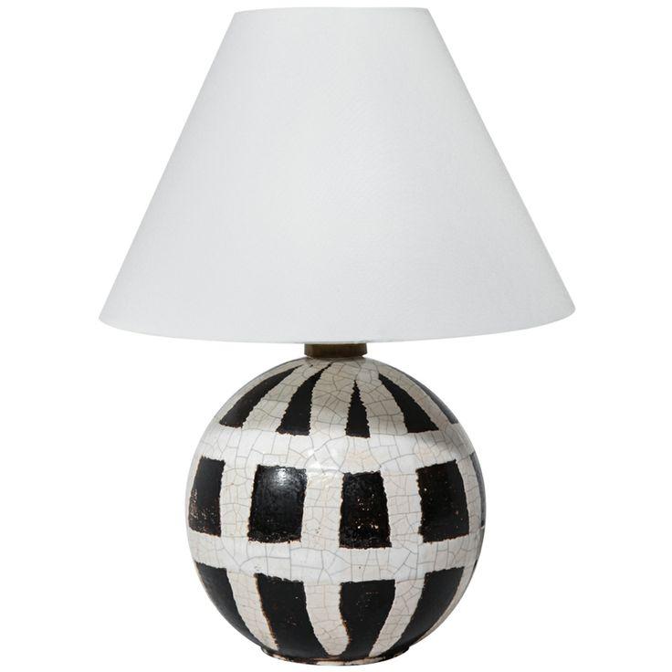 1stdibs.com   Ceramic Table Lamp by Jean Besnard