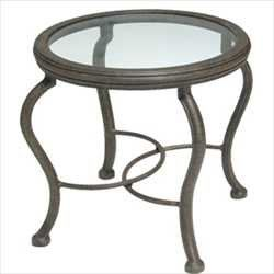 Pin it! :) Follow us :))  zPatioFurniture.com is your Patio Furniture Gallery ;) CLICK IMAGE TWICE for Pricing and Info :) SEE A LARGER SELECTION of  patio side tables at http://zpatiofurniture.com/category/patio-furniture-categories/patio-side-tables/ -  home, patio, home decor, patio side tables  - Venice End Table – Glass Top – Aluminum Patio Furniture « zPatioFurniture.com