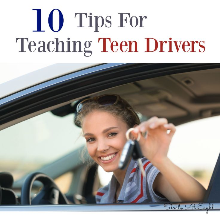 10 Tips for Teaching Teen Drivers are tidbits of helpful information on teaching your teen to drive that come from an experienced driving instructor.
