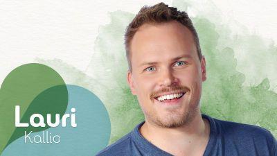 Uusi Päivä -sarjan näyttelijä Panu Mikkola