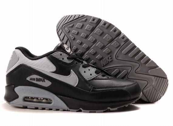 https://www.kengriffeyshoes.com/nike-air-max-90-black-grey-p-765.html Only$68.99 #NIKE AIR MAX 90 BLACK GREY #Free #Shipping!