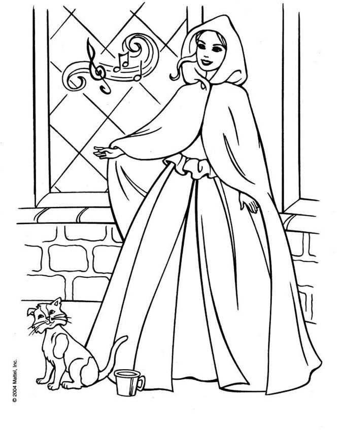 439 best Barbie World Coloring Pages images on Pinterest