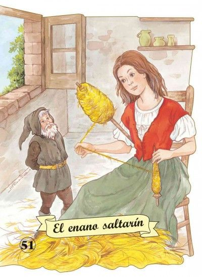 El enano saltarin / Rumpelstiltskin (SPANISH) (Troquelados Clasicos / Die Cut Classic Tales)