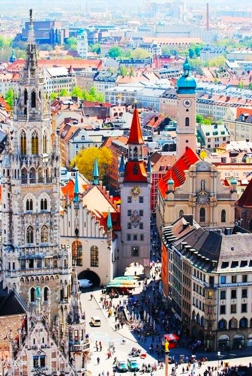 Munich, #Germany #Travel  My dad was in the Army, and we were stationed here!  Lucky us!  Had the chance to travel all over Europe! Beautiful!