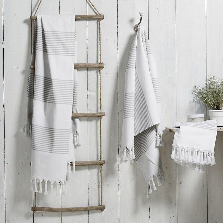 The White Company Ravello hamman towel