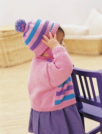 Yarnspirations.com - Patons Funny Stripes Set - Patterns  | Yarnspirations
