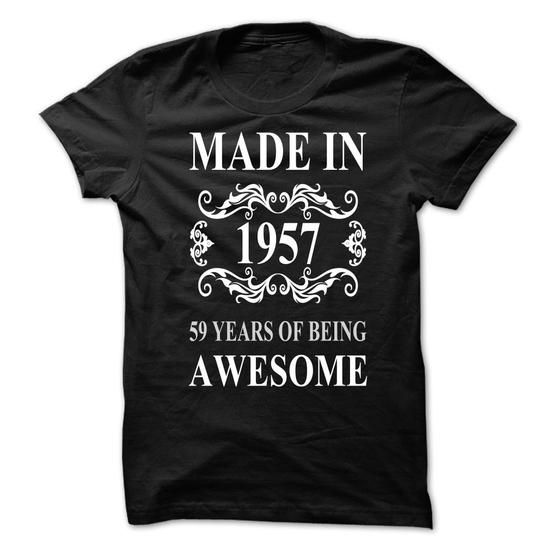 1957 2016 - #tshirt print #black sweater. BUY-TODAY => https://www.sunfrog.com/LifeStyle/1957-2016.html?68278