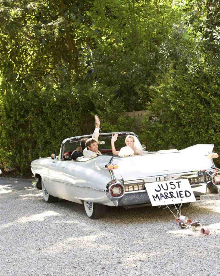 """Képtalálat a következőre: """"tin can wedding car decoration"""""""