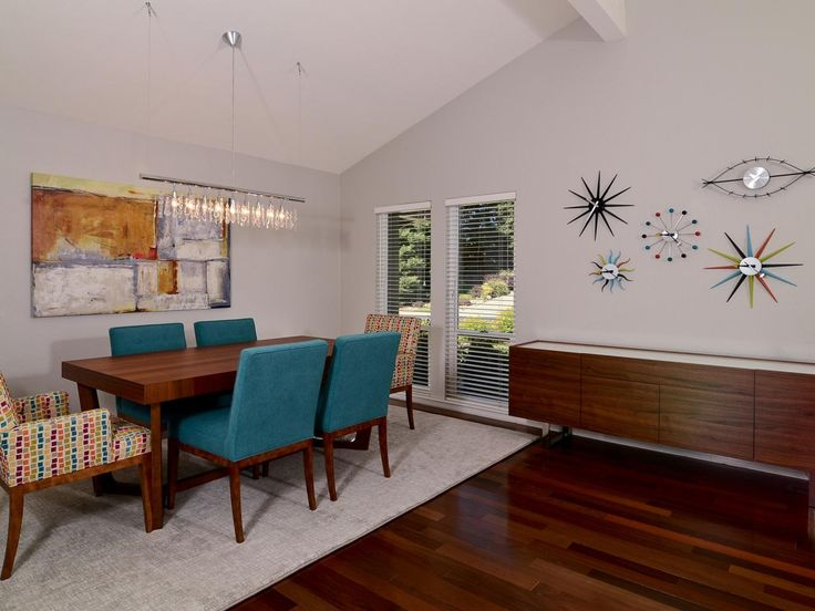 Mid Century Modern Dining Rooms 549 best mid-century modern design images on pinterest | modern