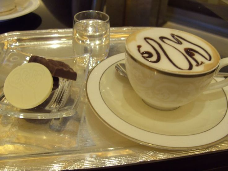 Camelcino a cuppuccino with camel milk and dates syrup