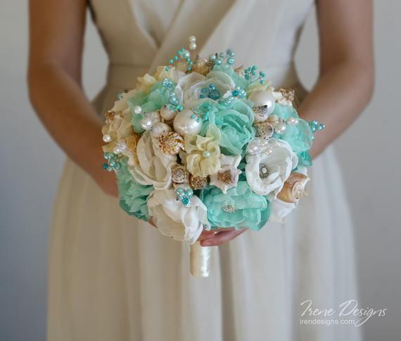 Immagini Di Bouquet Da Sposa.Conchiglie Di Bouquet Da Sposa Bouquet Da Sposa Avorio E Image 1