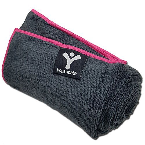 Perfect Yoga Towel - Super Soft, Sweat Absorbent, Non-Slip Bikram Hot Yoga Towels | Perfect Size For Mat - Ideal For Hot Yoga, Pilates, Sports, And More! 100% Satisfaction Guarantee!