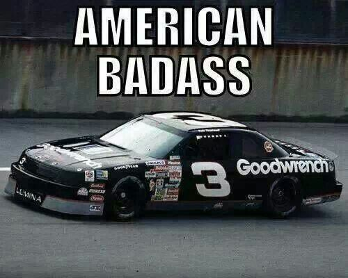 The original american badass. Rest easy legend, you are truly missed. #TheIntimidator