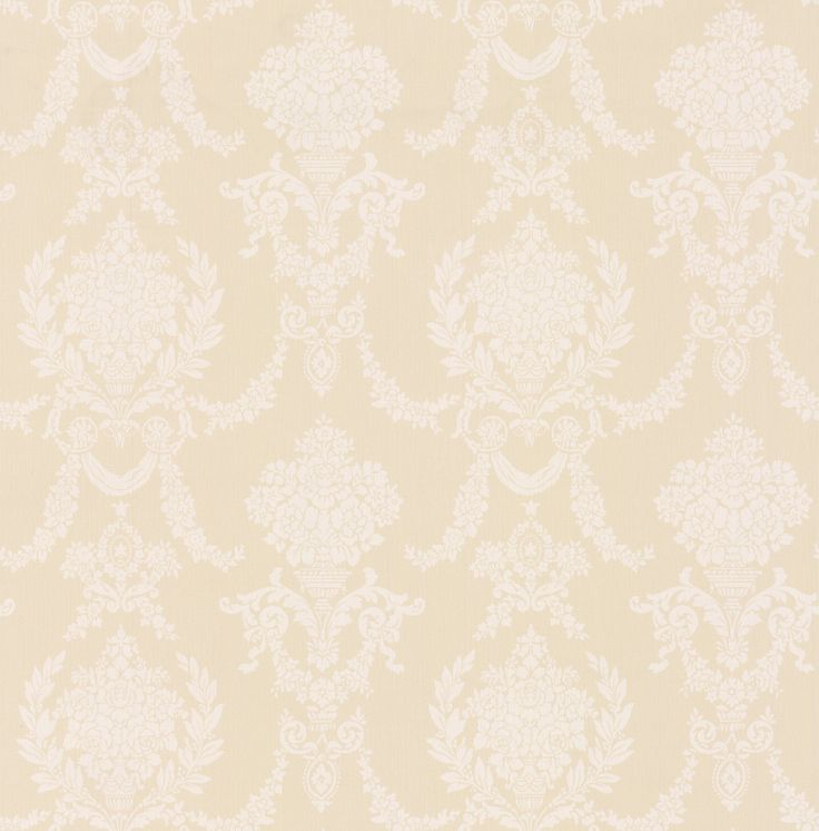 Trailing Damask by Albany Yellow Wallpaper 21540