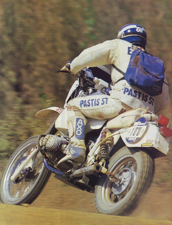 Hubert Auriol, BMW, Dakar Rally 1984.