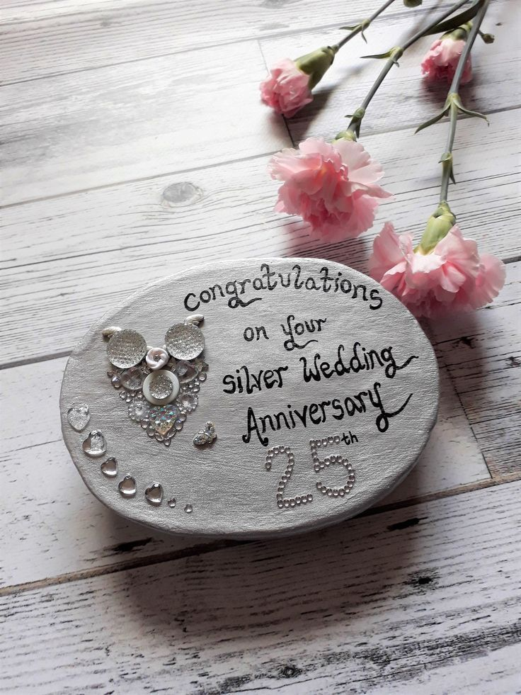 25th Silver Wedding Anniversary Gift 25th Wedding Anniversary Gift Ideas Silver In 2020 Silver Wedding Anniversary Gift Wedding Anniversary Gifts Silver Wedding Gifts