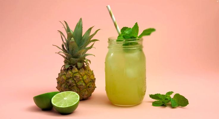 This Pineapple-Mint Mojito Mocktail Will Get Any Summer Party Going - Redbook.com