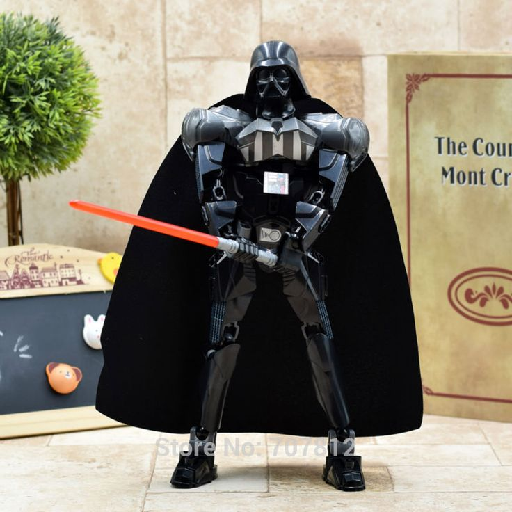 Star Wars ABS Action Figure Darth Vader 25CM Cool Movie Collection Toy Bricks Best Gift XQDZ043 ** Check out this great product.