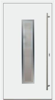 Aluminium Haustür Modell 21-3/E weiß
