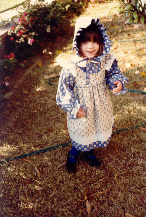 Zooey Deschanel - I had no idea this was her on Little House on the Prairie!