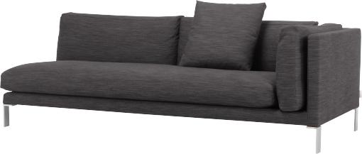 Newman 3-Sitzer-Stoffsofa