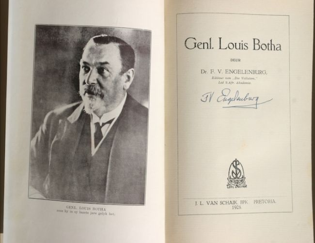 This Day in History: 27 Sep, 1862, Gen. Louis Botha, soldier, statesman and first prime minister of the Union of South Africa, is born. dingeengoete.blogspot.com http://www.antiquarianauctions.com/img_tmp/img/lots/1341386648_IMG_7654.JPG650650b.jpg