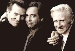 Actor Lloyd Bridges with actor sons Jeff Bridges and Beau Bridges.