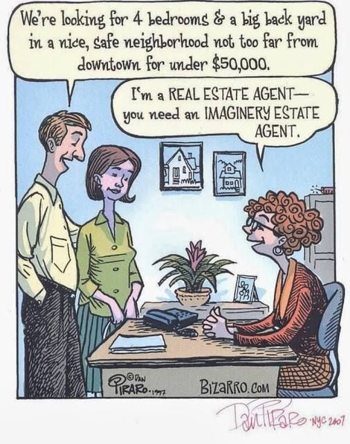 Real Estate Humor Strada Real Estate Group, LLC - Louisville Kentucky - Call us today. http://www.stradaregroup.com