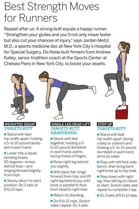 strength moves for runners