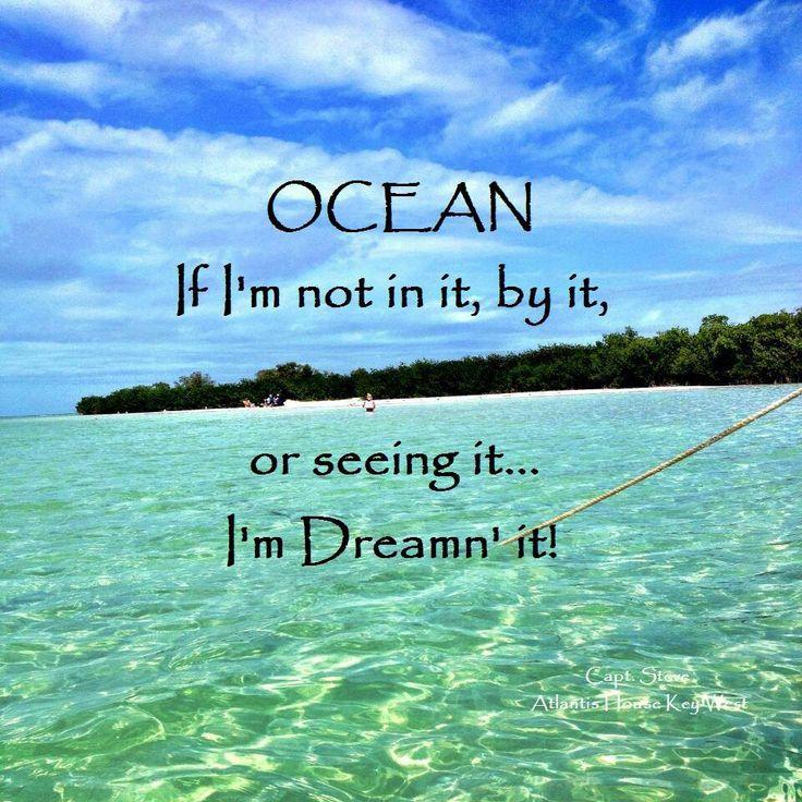 Dreamin' of the ocean!