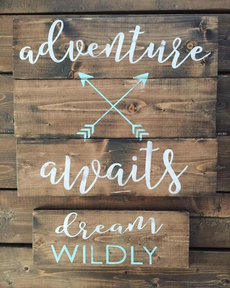 RUSTIC  MODERN HOME DECOR  WOOD SIGNS by UniqueBoutiqueDecor