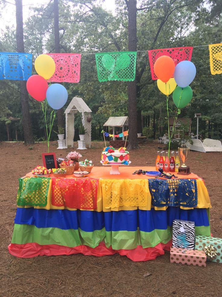 Fiesta decorations