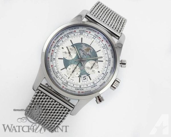 Breitling Transocean Chronograph Unitime - Ref. AB0510U0/A732-152A Price On Request