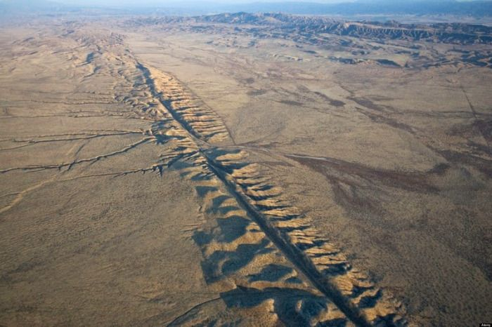 The San Andreas Fault of California