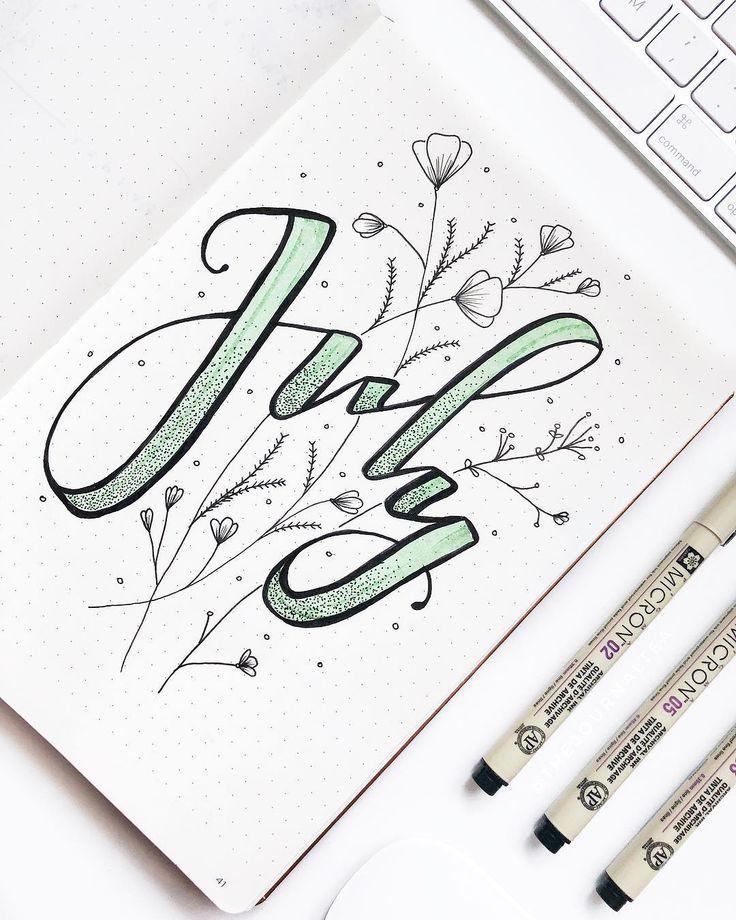 15 Lovely MINT bullet journal layout ideas – Eliza…
