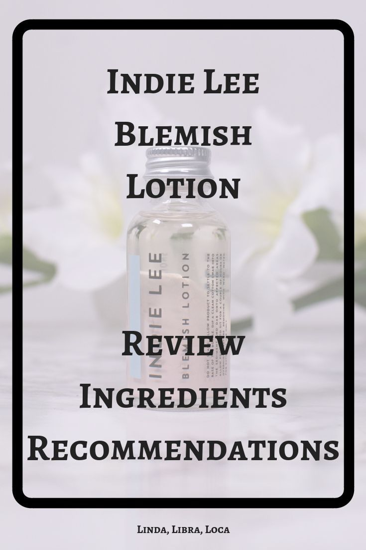 Indie Lee Blemish Lotion – Marriage – #Blemish #In…