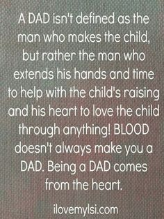 What is a Dad? A Dad is someone who... {Father's Day Quote | Day ...