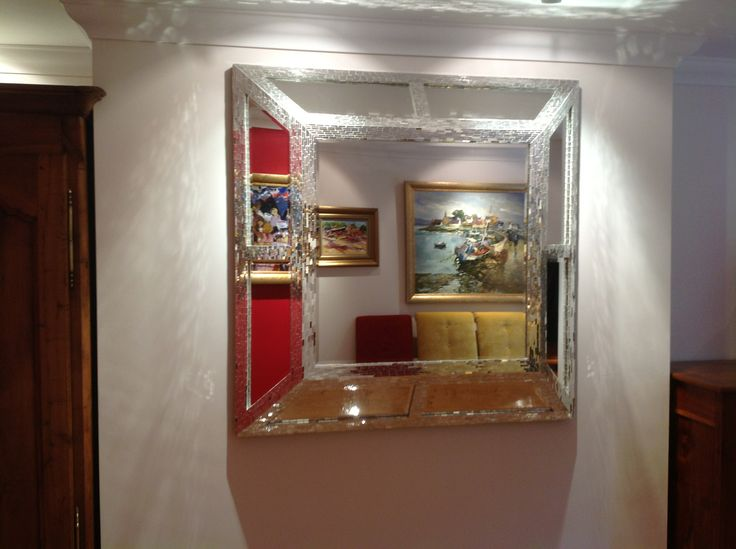 Commissioned 3-D Mirror