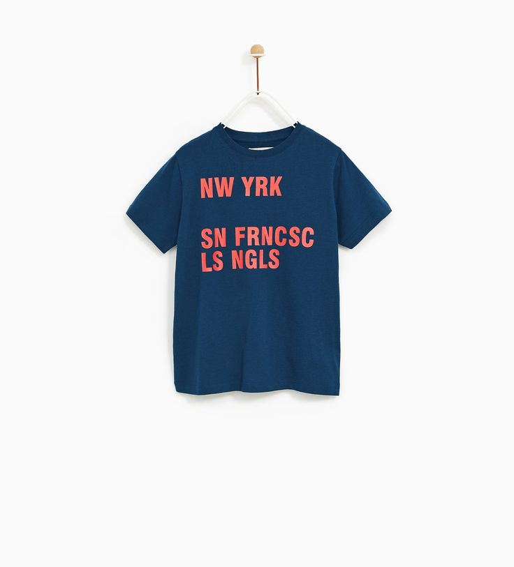 Image 1 of GRAPHIC T-SHIRT from Zara