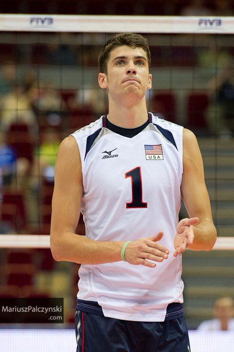 Handsome Matt Anderson of the US Men's Volleyball team!