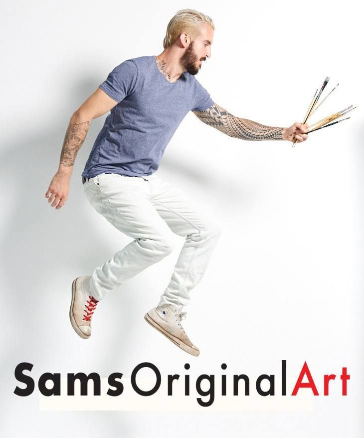 Sam's Original Art delivers beautifully painted modern artwork with outstanding attention to detail right to you. We cut out all the middle men, we don't have a large gallery in a high rent district.