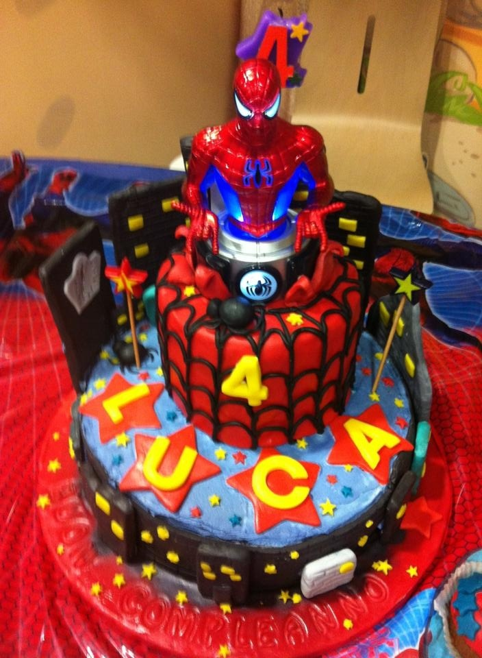 spider man cake le torte di nap food drink pinterest spider man cakes spiderman and. Black Bedroom Furniture Sets. Home Design Ideas